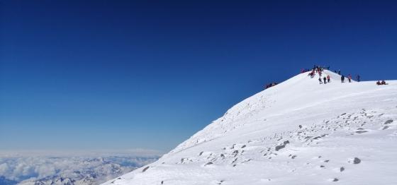 Експедиция Елбрус- 5642 покрива на Европа