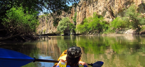 Adventure with kayaks on the Yantra River 2020