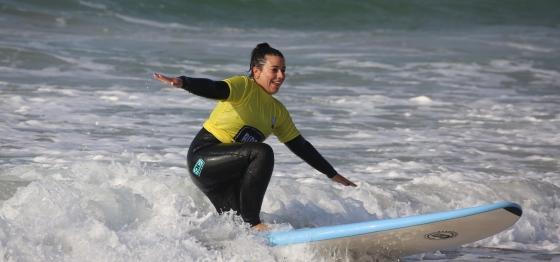 Пениш- сърф и усмивки в Португалия